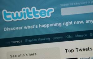 use twitter