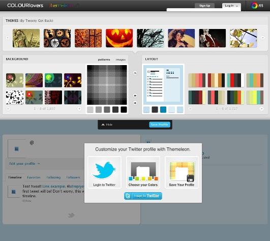 ColourLovers for twitter