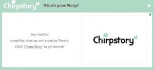 chirpstory