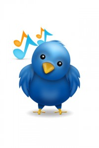 share music on Twitter