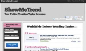 Show Me Trend