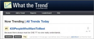 What The Trend