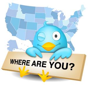 tweet location
