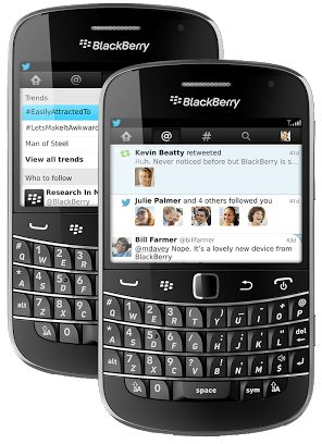 twitter update app for blackberry