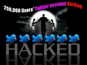 Twitter account attacks