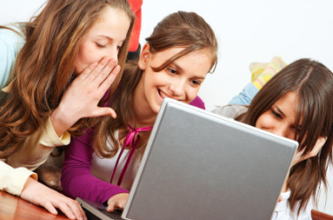 children on social networking